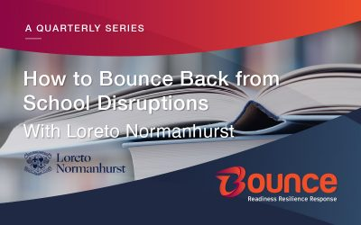 How to Bounce Back from School Disruptions (a case study with Loreto Normanhurst)